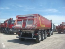Trailer Schmitz Cargobull BENNE ALU 2008 38T 3 ESSIEUX SAF 1 ESSIEU RELEVABLE SUSPENSIONS AIR tweedehands kipper