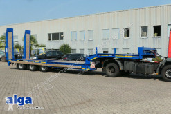 Heavy equipment transport semi-trailer Gheysen & Verpoort, 9,1mtr. lang, Hydr. Rampen