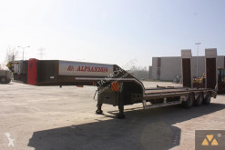 Alpsan heavy equipment transport semi-trailer