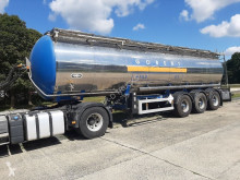 Van Hool ADR - HEIZBAR - 32000 L semi-trailer used chemical tanker