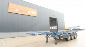 Semi remorque Groenewegen 30FT ADR (EX/II, EX/III, FL, AT, OX)-chassis, BPW, ALCOA, NL-chassis occasion