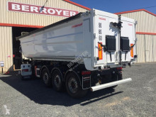 Fruehauf Alu semi-trailer used construction dump