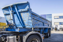 Decauville tipper semi-trailer ORIGINAL-ACIER- 2XLAMES