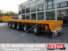 Es-ge 5-Achs-Ballastauflieger semi-trailer used flatbed