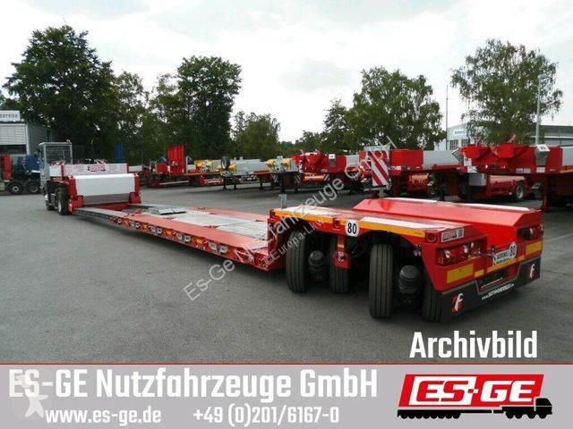 View images Faymonville 2-Achs-Tiefbett - 2x12 t - teleskopierbar semi-trailer