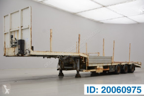 Semi remorque Asca Low bed trailer porte engins occasion