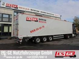 Semirimorchio furgone Knapen 3-Achs-Schubbodenauflieger 92m³
