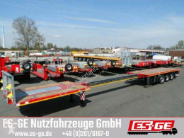Faymonville 3-Achs-Teleauflieger - hydr. gelenkt semi-trailer used flatbed