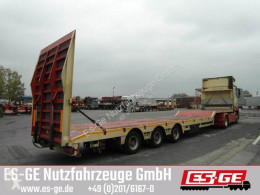 ES-GE heavy equipment transport semi-trailer Es-ge 3-Achs-Satteltieflader mit Megahals