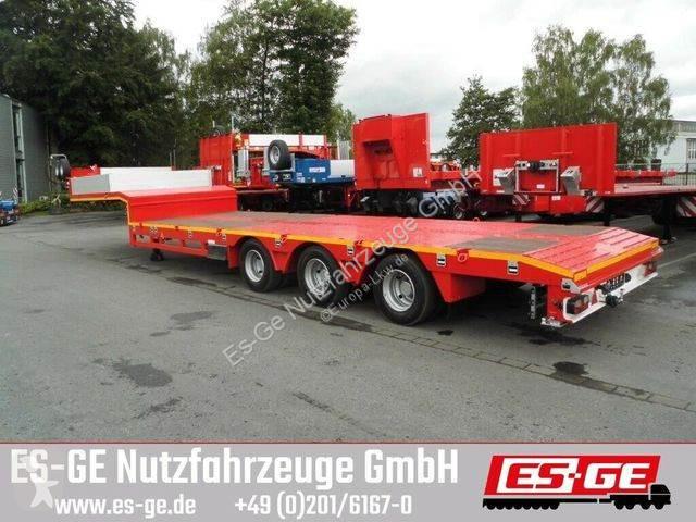 View images Nc Es-ge 3-Achs-Satteltieflader - teleskopier - 1 NLA semi-trailer