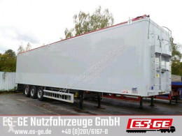 Semi remorque Knapen 3-Achs-Schubbodenauflieger 92m³ fourgon occasion