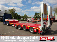 Used flatbed semi-trailer Faymonville MAX Trailer 4-Achs-Satteltieflader - 2-fach tele
