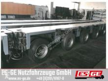 Naczepa platforma Goldhofer 4-Achs-Fahrwerk 4x12 t THP-UT