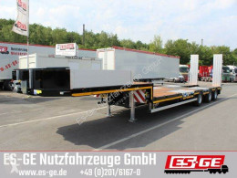 ES-GE heavy equipment transport semi-trailer Es-ge 3-Achs-Satteltieflader mit Radmulden