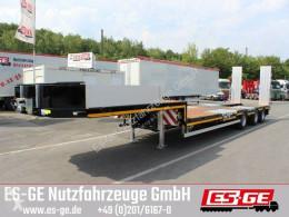 Es-ge 3-Achs-Satteltieflader mit Radmulden semi-trailer used flatbed