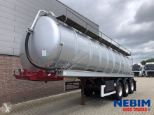 Semirremolque Dijkstra DRVO 12 27 - 32.000L - TIERFUTTERTANK cisterna usado