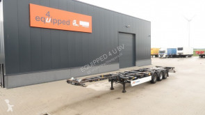 Semitrailer containertransport Krone 45FT-HC, BPW, extendable front+ rear, NL-chassis, MOT: 05-02-2021