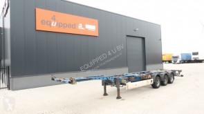 semirremolque Krone 45FT-HC, BPW, achter-uitschuifbaar, NL-chassis, 2x beschikbaar