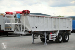 Semi remorque benne Stas TIPPER 24 M3 / WHOLE ALUMINIUM /4 700 KG /2 AXES