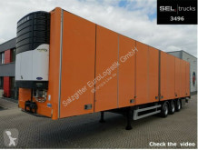 Schmitz Cargobull Närco S3ZW13L61 / mit Faltwand / Carrier semi-trailer used refrigerated