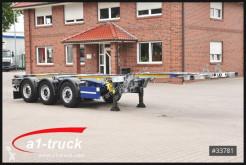 Semirremolque chasis usado Schmitz Cargobull SCF 24 G - 40 Slider verzinkt GGVS/ ADR