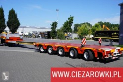 portamáquinas MAX Trailer 5 axles , extended , 14,5m x 3m , 3 steering axles