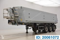 semi remorque Schmitz Cargobull 32 cub in alu - steel chassis