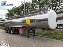 Magyar Food Steel suspension, Isolated Food tank, 34500 Liter, 5 Compartments semi-trailer used tanker