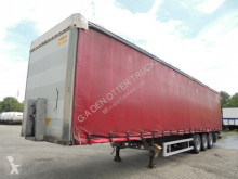 Humbaur GEGALVANISEERD DISK BRAKES semi-trailer used tautliner