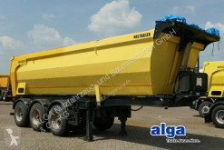 HAS Trailer/3 Achser/Stahl 28 m³./Plane/ABS semi-trailer used tipper