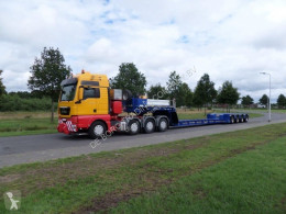 Trailer Broshuis 4ABD 48 - Extendable Low Loader for Heavy Haulage tweedehands dieplader