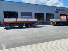 Floor flatbed semi-trailer