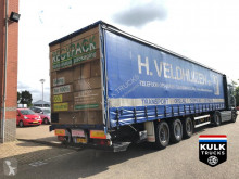Groenewegen DRO-14-27 / Slide roof / Tail lift BPW DRUMBRAKES semi-trailer