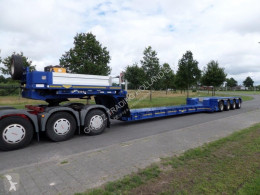 Broshuis heavy equipment transport semi-trailer 4 ABD 48 extendable low loader