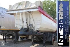 Schwarzmüller half-pipe semi-trailer semirimorchio vasca ribaltabile 27m3 usata