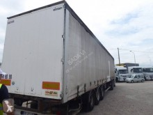 Used tautliner semi-trailer Samro