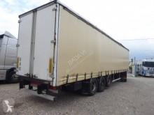 Trouillet semi-trailer used tautliner