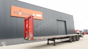 Semirremolque Van Hool 40FT (4 new twist-locks), SAF INTRADISC, hardwoodenfloor, galvanized, NL-trailer, APK: 18/12/2020 portacontenedores usado