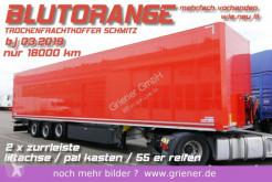 Yarı römork van Schmitz Cargobull SKO 24/ 2 x ZURRLEISTE / LIFTACHSE / pal. kasten