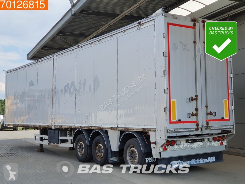 Voir les photos Semi remorque AMT Trailer S340 96m3 Side Opening Steeraxle Liftaxle 10mm Floor