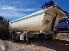 Menci semi-trailer used tipper