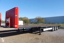 Krone SD PLATEAU 13,62 m SUPPORT RANCHERS semi-trailer used flatbed