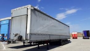 Leciñena reel carrier tautliner semi-trailer SRG 3ED PORTA BOBINAS