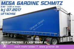 Schmitz Cargobull SCS 24/ MEGA / LIFTACHSE / LASI XL / LIGHT / TOP semi-trailer used tarp