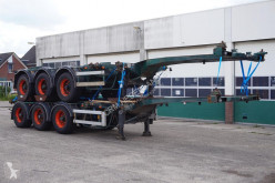 Semi remorque Nooteboom Container chassis 45ft. / Multi / Extendable / 37.450 KG Loading Capacity porte containers occasion