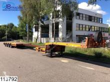 naczepa do transportu sprzętów ciężkich używana
