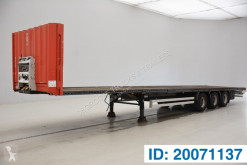 Krone Plateau semi-trailer used flatbed