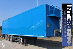 Ziliani semirimorchio piano mobile porta idraulica usato semi-trailer used self discharger