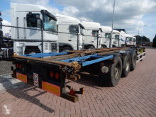 Semi remorque Broshuis 3UCC-39EU Chassis / SAF axles porte containers occasion