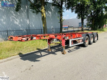 Semi remorque porte containers Dennison Chassis 20 / 30 FT Container system, Disc brakes, Bitum tank, Isolated, 30100 Liter, 150c, 4 Bar, 30 FT Container